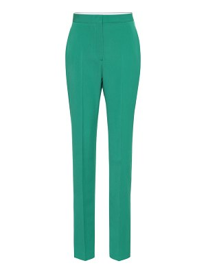 Stella McCartney wool high-rise pants