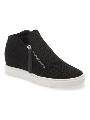 Steve Madden click hidden wedge high top sneaker