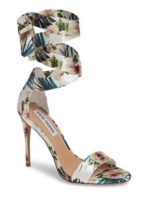 Steve Madden entertainment wraparound sandal