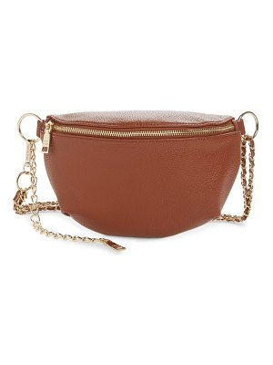 Steve Madden faux leather belt bag