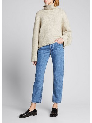 Still Here Tate Cropped Jeans with Painted Stripes