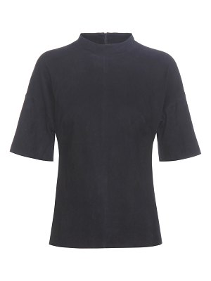 Stouls Leo suede shirt