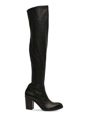 STRATEGIA 80mm stretch faux leather boots