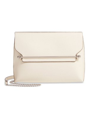 STRATHBERRY east/west stylist leather clutch