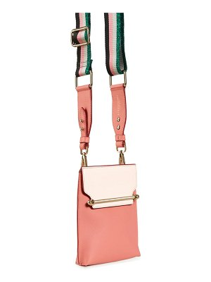 STRATHBERRY north/south stylist calfskin leather crossbody bag