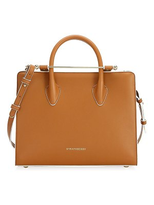 STRATHBERRY the midi leather tote