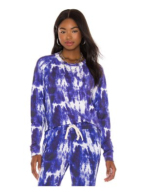 Stripe & Stare ink tie dye sweatshirt