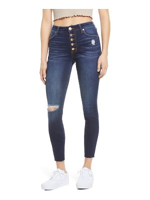 STS Blue ellie high waist distressed ankle jeans
