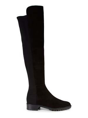 Stuart Weitzman 5050 City Stretch Suede Tall Boots