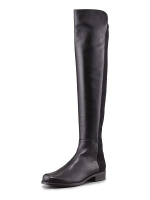 Stuart Weitzman 50/50 Leather Over-the-Knee Boot