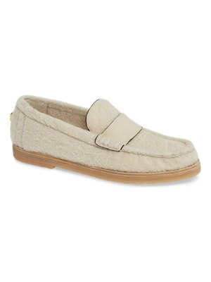 Stuart Weitzman bromley genuine shearling loafer
