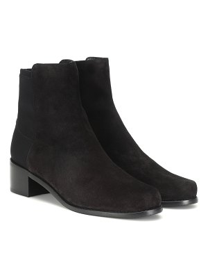 Stuart Weitzman easy on reserve suede ankle boots