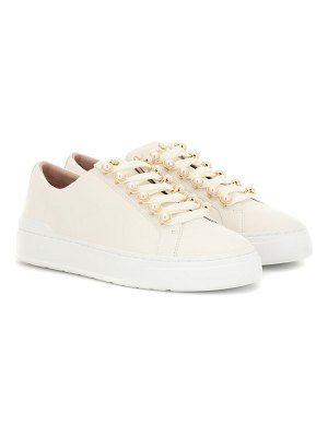Stuart Weitzman excelsa leather sneakers