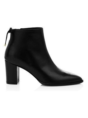 Stuart Weitzman gardiner point-toe leather ankle boots
