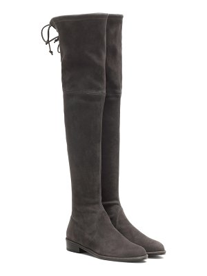 Stuart Weitzman lowland leather and suede boots