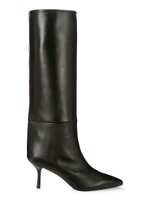 Stuart Weitzman Magda Mid-Calf Leather Boots