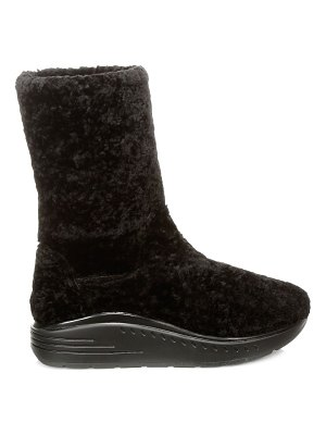 Stuart Weitzman murial shearling leather boots