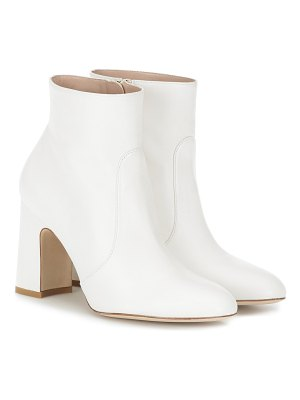 Stuart Weitzman nell leather ankle boots