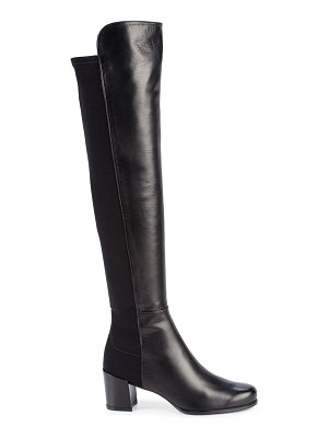 Stuart Weitzman Over-The-Knee Stretch-Back Boots
