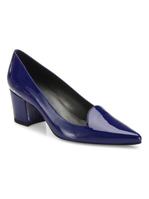 Stuart Weitzman Pinpoint Patent Leather Pumps