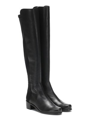 Stuart Weitzman reserve leather over-the-knee boots