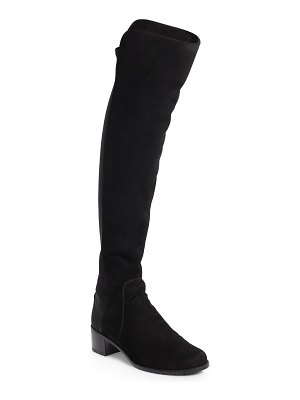 Stuart Weitzman reserve over-the-knee suede boots