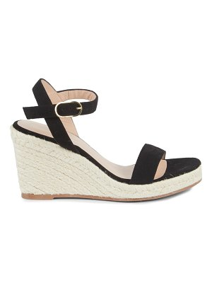 Stuart Weitzman Teddi Rope Trim Wedge Sandals