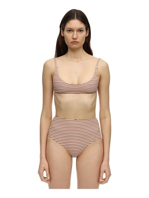 SUAHRU Aruba ribbed highwaisted bikini