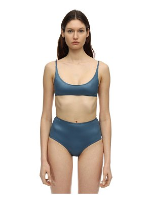 SUAHRU Aruba shiny high waisted bikini