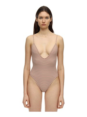 SUAHRU Florida ribbed one piece swimsuit