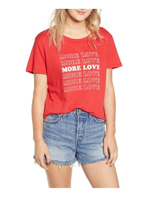 Sub Urban Riot more love slouched tee