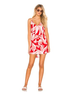 Suboo Havana Tie Front Mini Dress