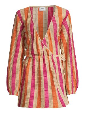 Suboo jacquelyn wrap dress cover-up