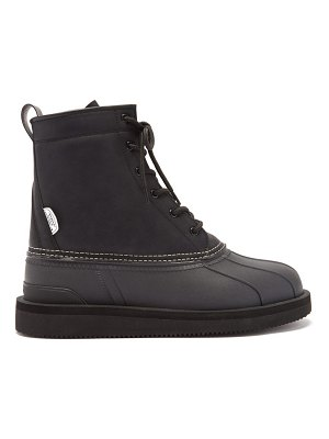 Suicoke alal high-top faux-leather boots