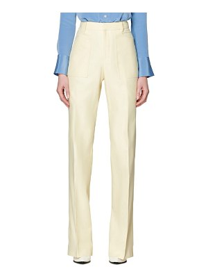 SUISTUDIO ally patch pocket trousers