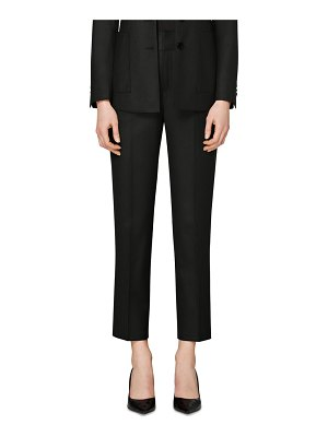 SUISTUDIO lane classic wool trousers