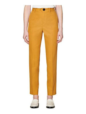 SUISTUDIO lane cotton twill trousers