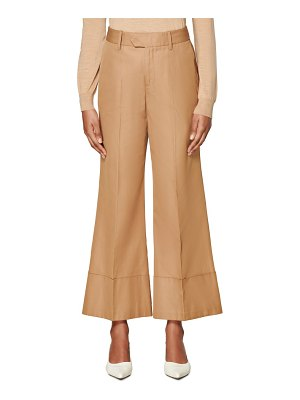 SUISTUDIO laney wide leg cotton trousers