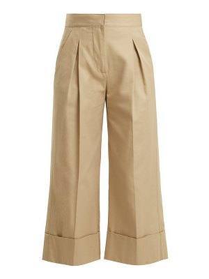 SUMMA pleated detailed cotton trousers