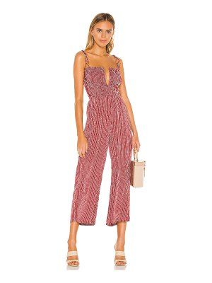 Sun Becomes Her Sayulita Culotte Jumpsuit