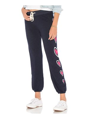 Sundry Side Hearts Basic Sweatpant