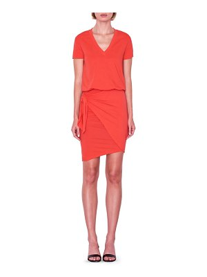 Sundry tie waist dress