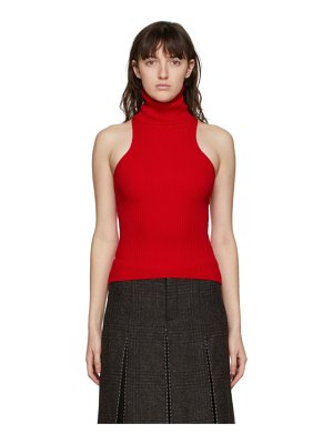 Sunnei sleeveless turtleneck