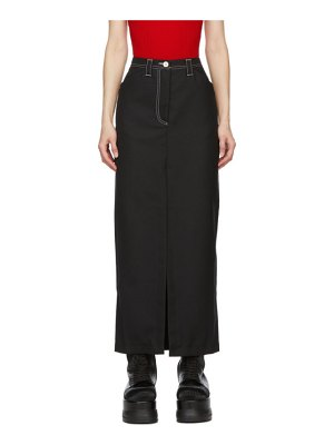 Sunnei slit long skirt