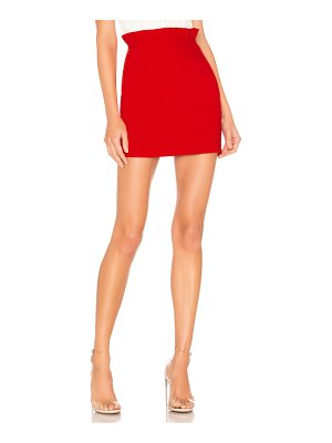 superdown norma ruffle mini skirt