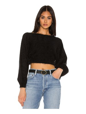 superdown ava cropped sweater