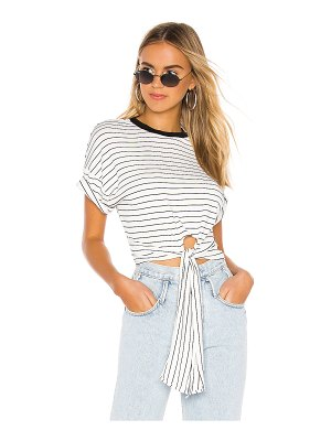 superdown bonnie crop tee