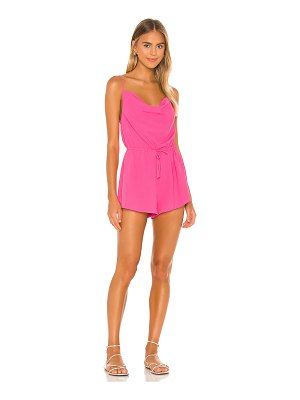 superdown camari cowl neck romper