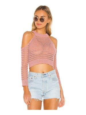 superdown Charlotte Open Shoulder Sweater