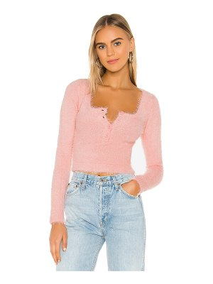 superdown clare long sleeve top
